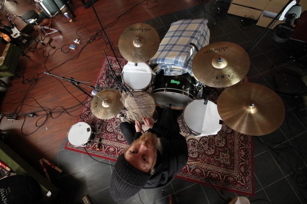 Orbitkledde trommer